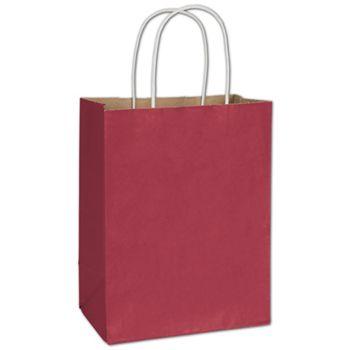 Crimson Radiant Shoppers, 8 1/4 x 4 3/4 x 10 1/2