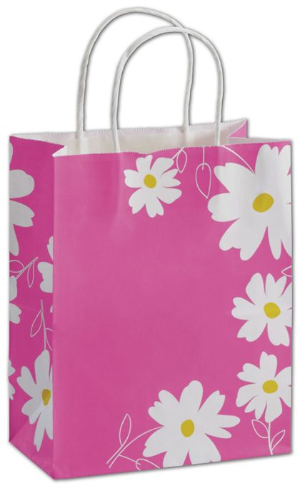 Dashing Daisy Shoppers, 8 1/4 x 4 3/4 x 10 1/2""