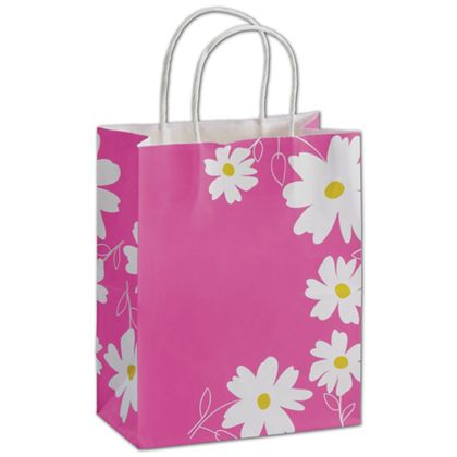 Dashing Daisy Shoppers, 8 1/4 x 4 3/4 x 10 1/2