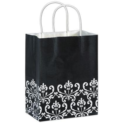 Ebony Chic Shoppers, 8 1/4 x 4 3/4 x 10 1/2