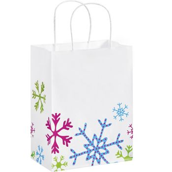 Fun Flakes Shoppers, 8 1/4 x 4 3/4 x 10 1/2