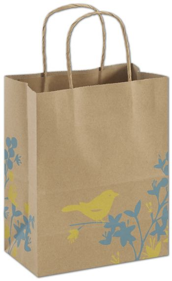 Hello Birdie Shoppers, 8 1/4 x 4 3/4 x 10 1/2