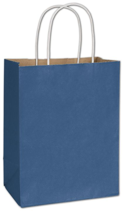 Nautical Blue Radiant Shoppers, 8 1/4 x 4 3/4 x 10 1/2""