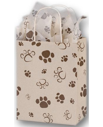 Paws Oatmeal Cub Shoppers, 8 1/4 x 4 3/4 x 10 1/2