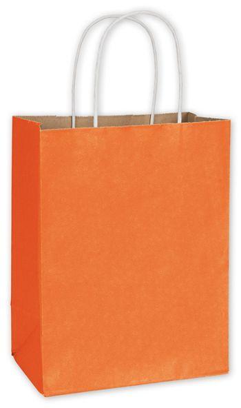 Pumpkin Radiant Shoppers, 8 1/4 x 4 3/4 x 10 1/2