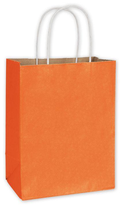 "Pumpkin Radiant Shoppers, 8 1/4 x 4 3/4 x 10 1/2"""