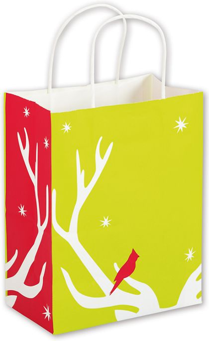 Reindeer Games Shoppers, 8 1/4 x 4 3/4 x 10 1/2""