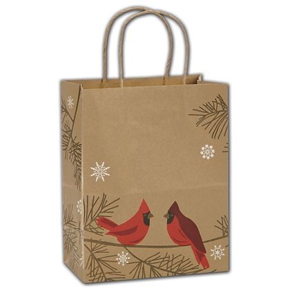 "Snowbirds Shoppers, 8 1/4 x 4 3/4 x 10 1/2"""