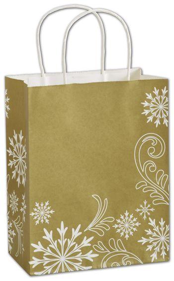 Shimmer & Swirl Shoppers, 8 1/4 x 4 3/4 x 10 1/2