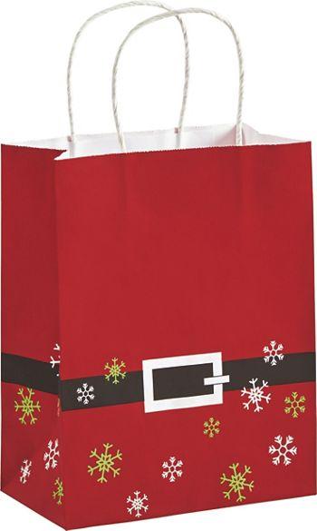 Santa Shoppers, 8 1/4 x 4 3/4 x 10 1/2