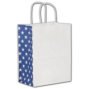Star Spangled Shoppers, 8 x 4 3/4 x 10 1/4