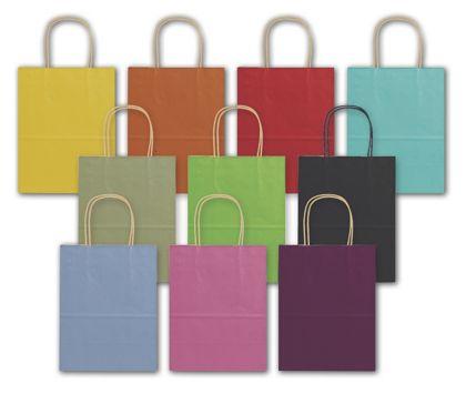 Varnish Stripe Shoppers Assortment, 8 1/4 x 4 3/4 x 10 1/2