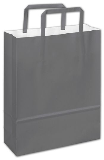 Galileo Grey Florence Shoppers, 8 1/2 x 3 x 11