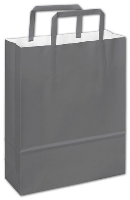 Galileo Grey Florence Shoppers, 8 1/2 x 3 x 11""