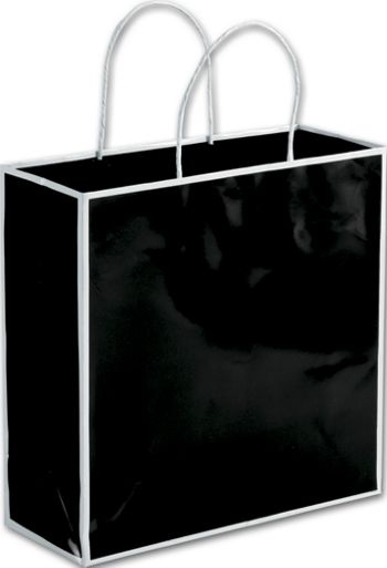 Bookman Black Shoppers, 10 x 4 x 10