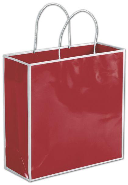 "Bridge Red Shoppers, 10 x 4 x 10"""