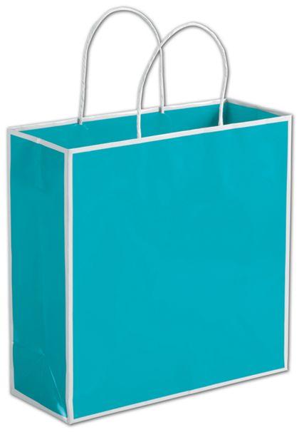 "China Beach Blue Shoppers, 10 x 4 x 10"""