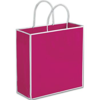 Fillmore Fuchsia Shoppers, 10 x 4 x 10