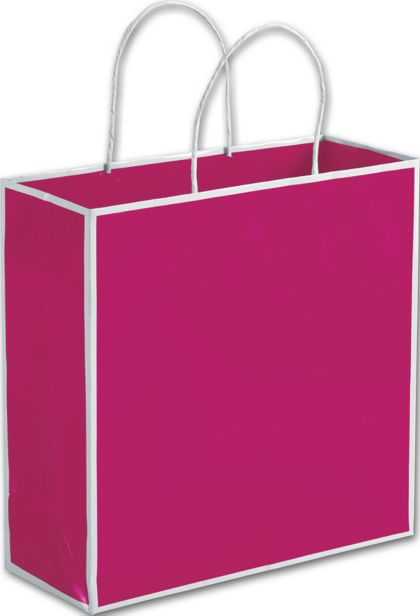 Fillmore Fuchsia Shoppers, 10 x 4 x 10""