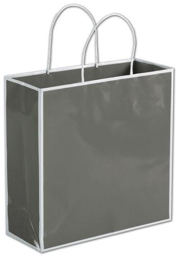 Slate Grey Shoppers, 10 x 4 x 10