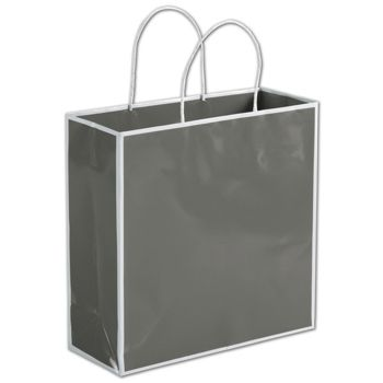Slate Grey Shoppers, 10 x 4 x 10