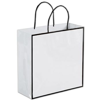 Whiteboard White Shoppers, 10 x 4 x 10