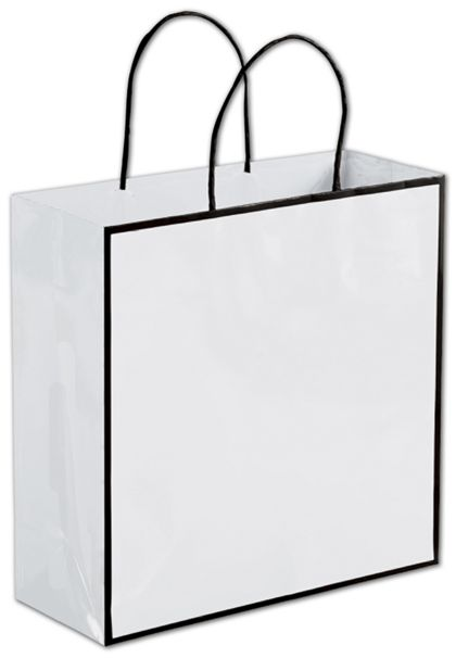 "Whiteboard White Shoppers, 10 x 4 x 10"""