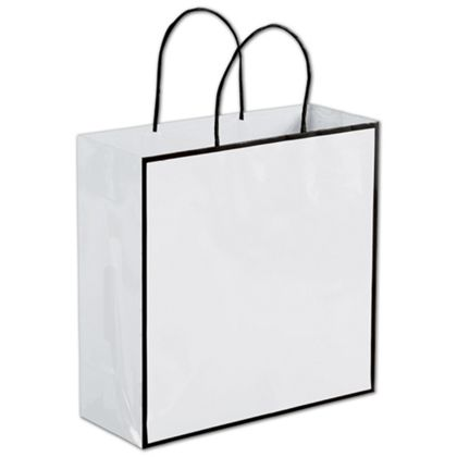 Whiteboard White Shoppers, 10 x 4 x 10