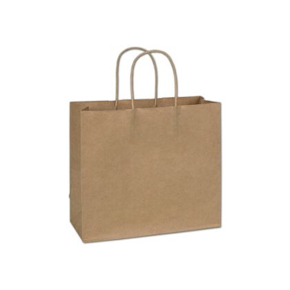 """Kraft Paper Shoppers Imperial, 12 x 5 x 10 1/2"""""""