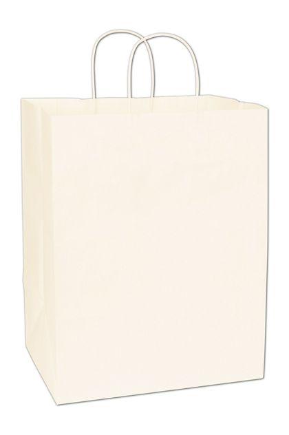 "White Paper Shoppers Regal, 12 x 9 x 15 1/2"""