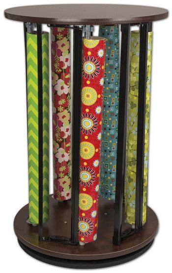 Suzy Rack Revolving Vertical Dispenser, 37 1/2 x 24