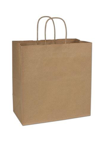Kraft Paper Shoppers Star, 13 x 7 x 13