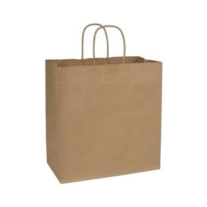 "Kraft Paper Shoppers Star, 13 x 7 x 13"""
