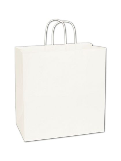 White Paper Shoppers Star, 13 x 7 x 13""