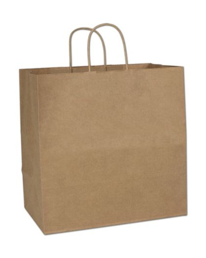 """Kraft Paper Shoppers Royal, 14 x 8 x 14 1/2"""""""