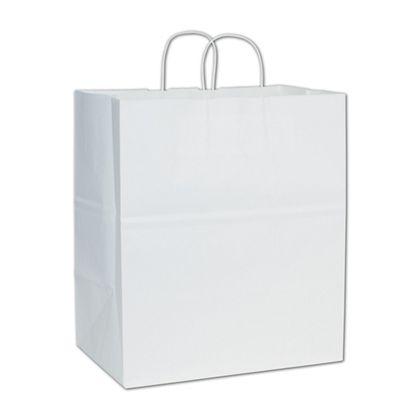 White Paper Shoppers Take Home, 14 x 10 x 15 1/2