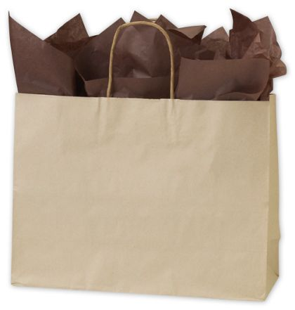 "Oatmeal Shoppers, 16 x 6 x 12 1/2"""