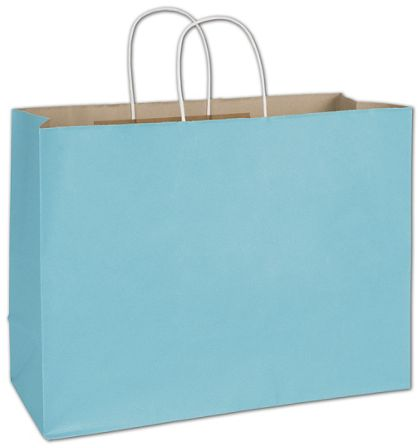 Arctic Blue Radiant Shoppers, 16 x 6 x 12 1/2""