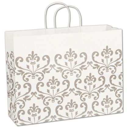 Champagne Chic Shoppers, 16 x 6 x 12 1/2