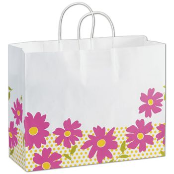Dashing Daisy Shoppers, 16 x 6 x 12 1/2
