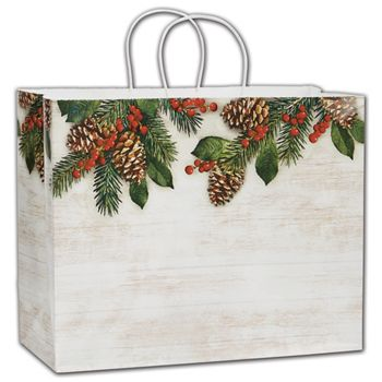 Good Tidings Shoppers, 16 x 6 x 12 1/2