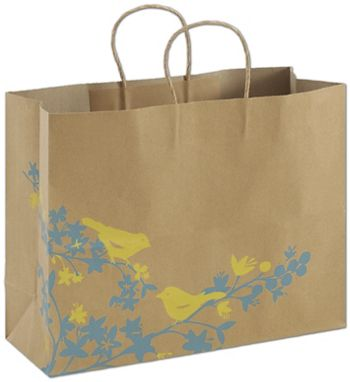 Hello Birdie Shoppers, 16 x 6 x 12 1/2