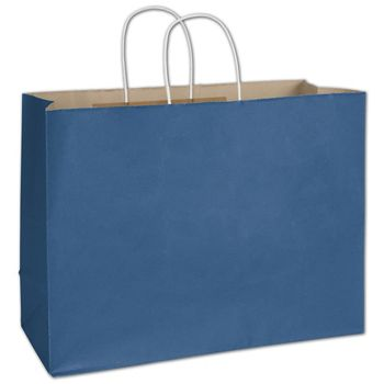 Nautical Blue Radiant Shoppers, 16 x 6 x 12 1/2