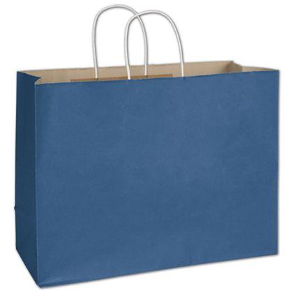 Nautical Blue Radiant Shoppers, 16 x 6 x 12 1/2