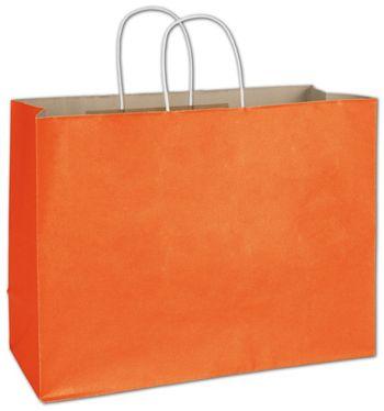 Pumpkin Radiant Shoppers, 16 x 6 x 12 1/2