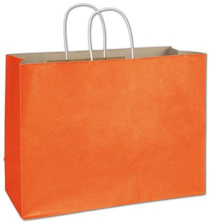 "Pumpkin Radiant Shoppers, 16 x 6 x 12 1/2"""