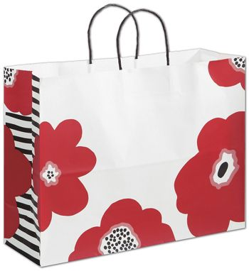 Poppy Shoppers, 16 x 6 x 12 1/2