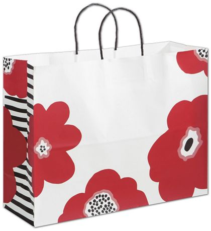 Poppy Shoppers, 16 x 6 x 12 1/2""