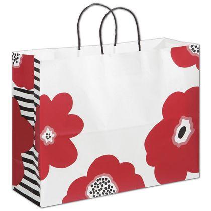 """Poppy Shoppers, 16 x 6 x 12 1/2"""""""