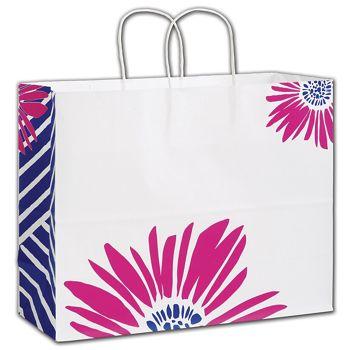 Petals Shoppers, 16 x 6 x 12 1/2